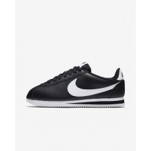 Nike Classic Cortez Lifestyle Shoes For Women Black/White (391LBNGA)