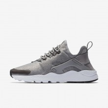 Nike Air Huarache Lifestyle Shoes Womens Dust/Metallic Pewter/Black (401JPRAF)