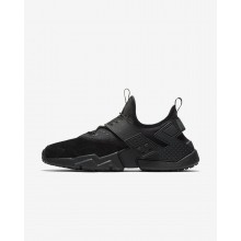 Nike Air Huarache Lifestyle Shoes Mens Black/White/Anthracite (401SEBVO)