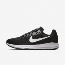 Nike Air Zoom Running Shoes Womens Black/Wolf Grey/Cool Grey/White (403JZNIL)