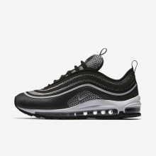Nike Air Max 97 Lifestyle Shoes For Women Black/Anthracite/White/Pure Platinum (414VSHGC)