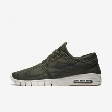 Nike SB Stefan Janoski Max Skateboarding Shoes Mens Sequoia/Gum Medium Brown/Light Bone/Black (420FIMPG)