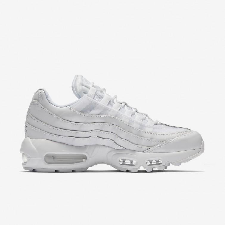 Kvinder Nike Air Max 95 Sko Hvid Pink :