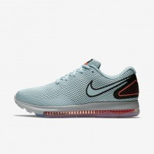 Nike Zoom All Out Running Shoes Womens Ocean Bliss/Black (457ICBHA)