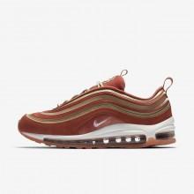 Nike Air Max 97 Lifestyle Shoes Womens Dusty Peach/Bio Beige/Summit White (460WUTPC)