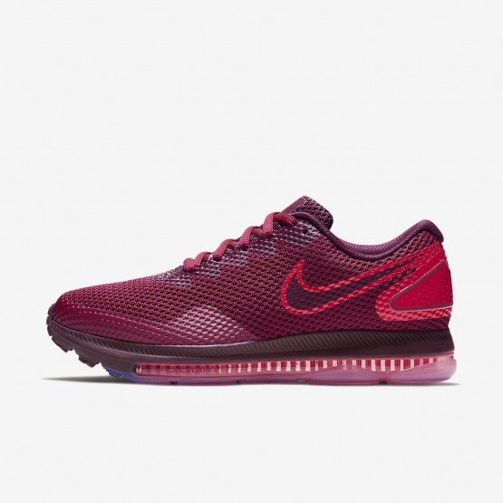 Nike Zoom All Out Running Shoes Womens Rush Maroon/Bordeaux (468JMQSH)