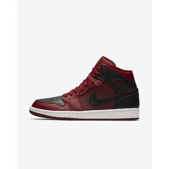Air Jordan 1 Lifestyle Shoes Mens Team Red/Summit White/Gym Red (470VZYFC)