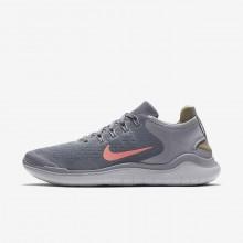 Nike Free RN Løbesko Kvinder Grå/Grå (477SJDLB)