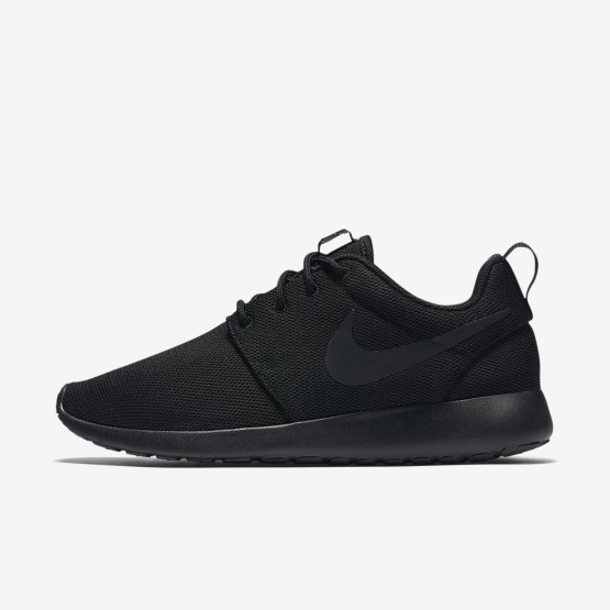 Chaussure Casual Nike Roshe One Femme Noir/Grise Foncé (479NABCM)