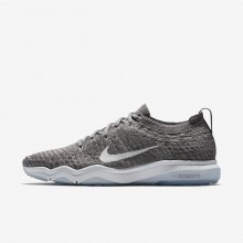 Nike Air Zoom Training Shoes Womens Gunsmoke/Atmosphere Grey/White (482HGTJR)
