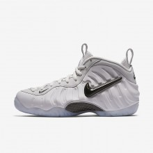Nike Air Foamposite Lifestyle Shoes Mens Vast Grey/Black (482IBFOC)