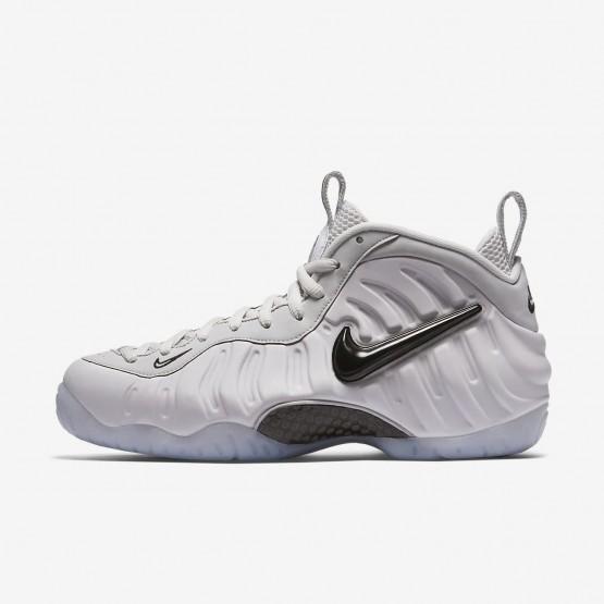 Nike Air Foamposite Lifestyle Shoes Mens Vast Grey/Black (482IBFOC)