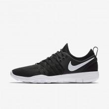 Nike Free TR Training Shoes For Women Black/White (485LYHJU)
