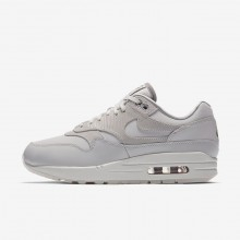 Nike Air Max 1 Lifestyle Shoes Womens Vast Grey/Atmosphere Grey/Summit White (486NJIES)