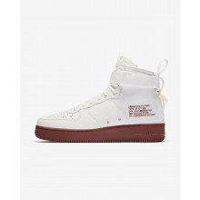 Chaussure Casual Nike SF Air Force 1 Homme Blanche (487PCKUM)