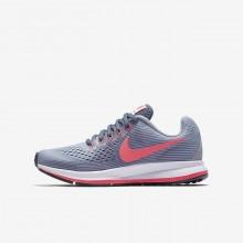 Nike Zoom Pegasus Hardloopschoenen Meisjes Paars/Licht/Zwart/Rood (493TZMGP)
