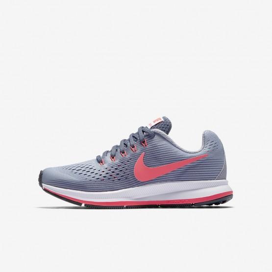 Chaussure Running Nike Zoom Pegasus Fille Violette/Clair Noir/Rouge (493TZMGP)
