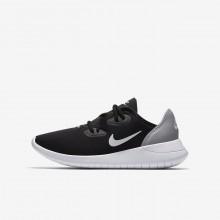 Nike Hakata Lifestyle Shoes Boys Black/Wolf Grey/White (502IRDLU)