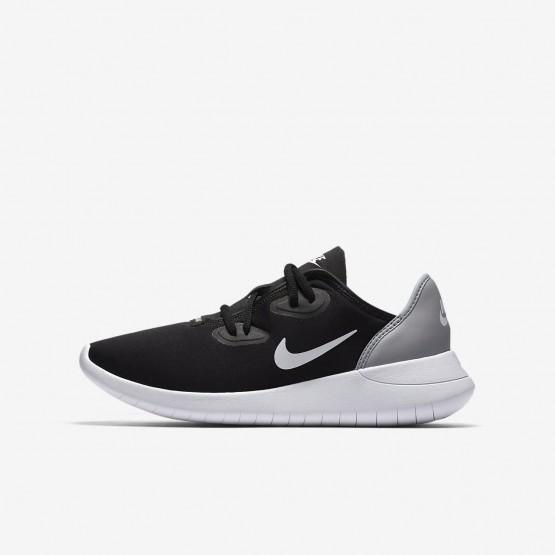 Chaussure Casual Nike Hakata Garcon Noir/Grise/Blanche (502IRDLU)
