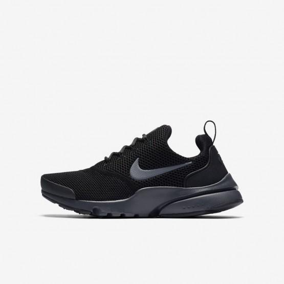 Nike Presto Fly Lifestyle Shoes Boys Black/Anthracite (506OKITD)