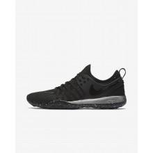 Nike Free TR Training Shoes Womens Black/Chrome (507IMUEY)