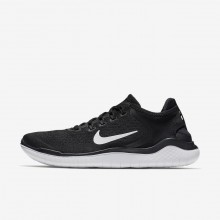Nike Free RN Running Shoes For Men Black/White (510MCIRX)