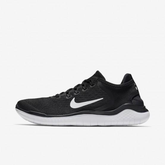 Nike Free RN Running Shoes Mens Black/White (510MCIRX)