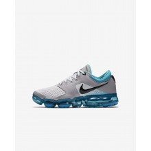 Nike Air VaporMax Running Shoes For Boys Vast Grey/Dusty Cactus/Atmosphere Grey/Black (512LEGJZ)