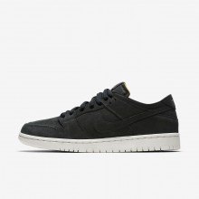 Nike SB Zoom Dunk Skateboarding Shoes Mens Black/Summit White/Anthracite (519RKIFB)