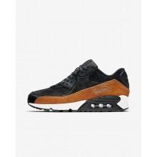 Nike Air Max 90 Lifestyle Shoes Womens Tar/Black/Cider (521MKQUX)