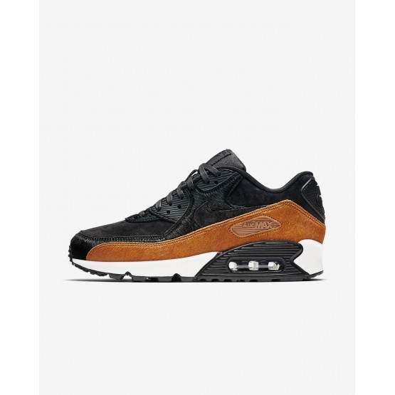 Nike Air Max 90 Lifestyle Shoes For Women Tar/Black/Cider (521MKQUX)