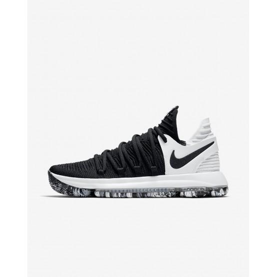 Nike Zoom KDX Basketball Shoes Womens Black/White (525DKUTR)