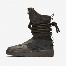 Chaussure Casual Nike SF Air Force 1 Homme Noir (528QIHEJ)