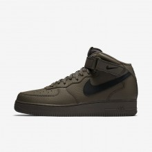 Nike Air Force 1 Lifestyle Shoes Mens Ridgerock/Black (535XROUT)