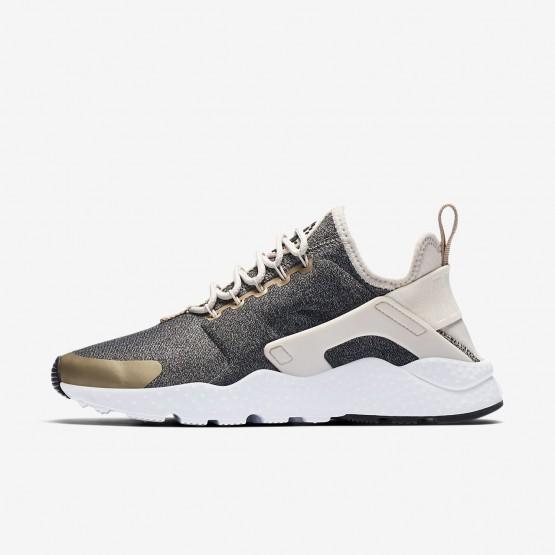 Nike Air Huarache Lifestyle Shoes Womens Light Orewood Brown/Blur/Black (536SGWBF)