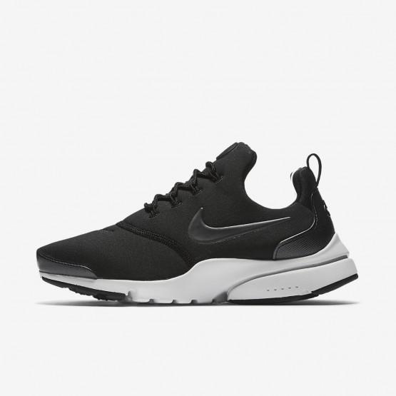 Nike Presto Fly Casual Sko Kvinder Sort/Hvide/Metal (539BPMQO)