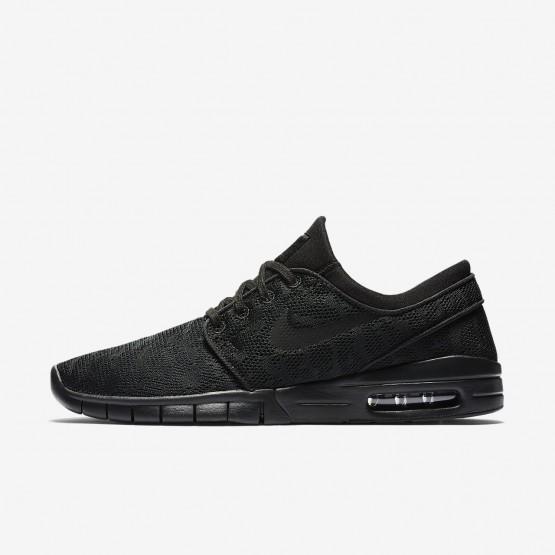 Nike SB Stefan Janoski Max Skateboarding Shoes Mens Black/Anthracite (540PAUDS)