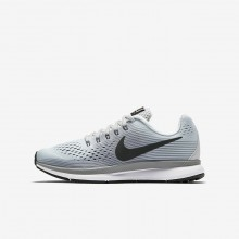 Nike Zoom Pegasus Running Shoes For Boys Pure Platinum/Cool Grey/Wolf Grey/Anthracite (540RIXOE)