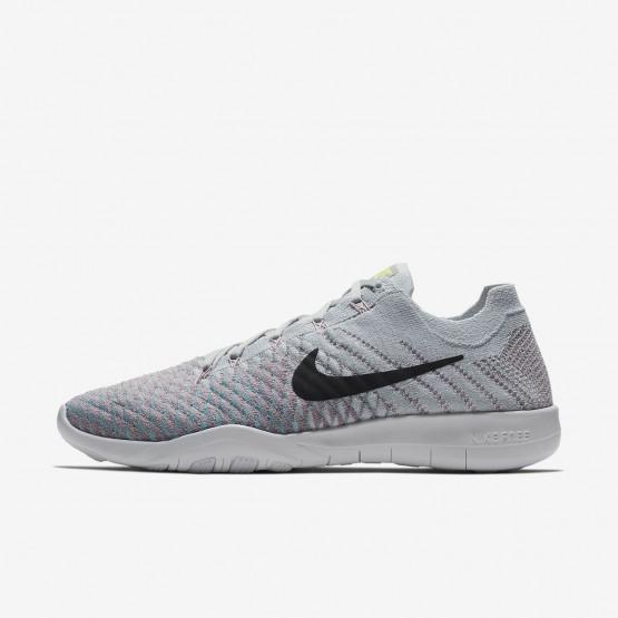 Nike Free TR Training Shoes Womens Pure Platinum/Plum Fog/Mica Blue/Anthracite (545ECIBL)