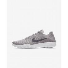 Nike Free TR Training Shoes For Women Atmosphere Grey/White/Gunsmoke (550XDAQF)