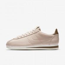Nike x Maria Sharapova Classic Lifestyle Shoes Womens Particle Beige/Orange Quartz/Sail (565TVBFW)