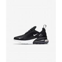 Nike Air Max 270 Lifestyle Shoes Boys Black/Anthracite/White (567ZLRXO)