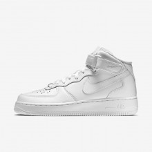 Nike Air Force 1 Lifestyle Shoes Womens White (568GDIMX)