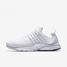 Nike Air Presto Lifestyle Shoes Mens White/Black (576STYRK)
