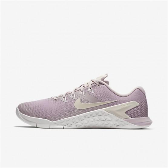 Chaussure De Sport Nike Metcon 4 Femme Rose/Blanche (576YRCTH)