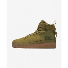 Nike SF Air Force 1 Lifestyle Shoes For Men Desert Moss/Gum Medium Brown/Black (577BTYRM)