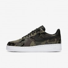 Nike Air Force 1 Lifestyle Shoes Mens Medium Olive/Baroque Brown/Sequoia/Black (582ZOCQD)