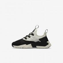 Nike Huarache Lifestyle Shoes Boys Black/White/Sail (583RUOJB)