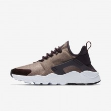 Nike Air Huarache Lifestyle Shoes Womens Port Wine/Metallic Mahogany/Particle Pink (584POHKV)