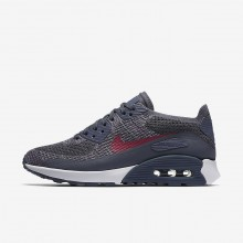 Chaussure Casual Nike Air Max 90 Femme Clair Blanche/Fushia/Rose (598QOJTN)